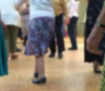 Neston Folk Dance Club Dancers