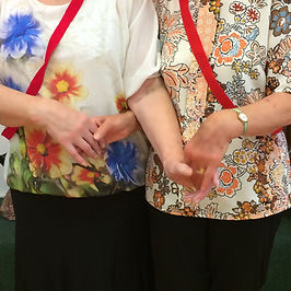Neston Folk Dance Club : Promenade Hold