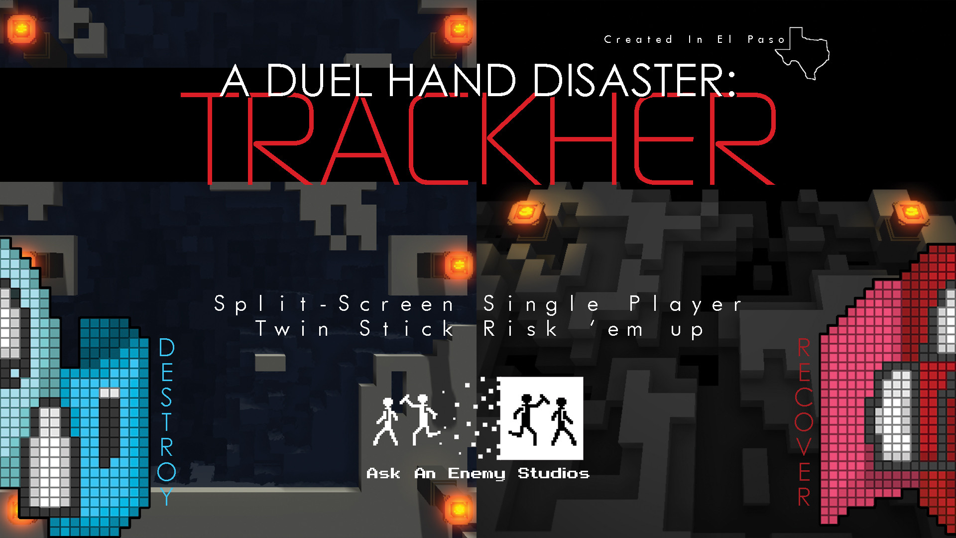 A Duel Hand Disaster: Trackher from Ask An Enemy Studios