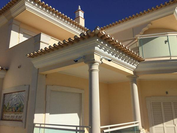 Algarve villa with 4K security cameras from Pediree Security