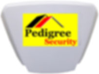 Pedigree Security alarm outdoor sounder