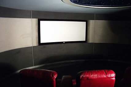 Projection Dreams - World's First Circular Home Cinema