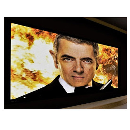 Screen Excellence 3.8m Flat Frameless Screen - Enlightor Neo Fabric