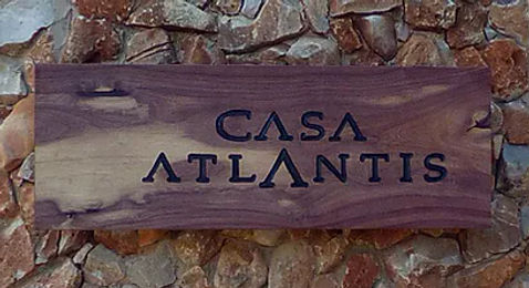 Casa Atlantis Sign
