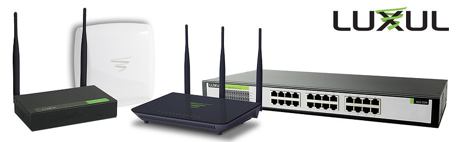 Luxul networking equipment