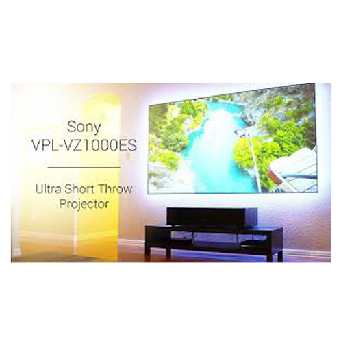Sony VZ1000 Ultra Short-Throw 4K Laser Projector