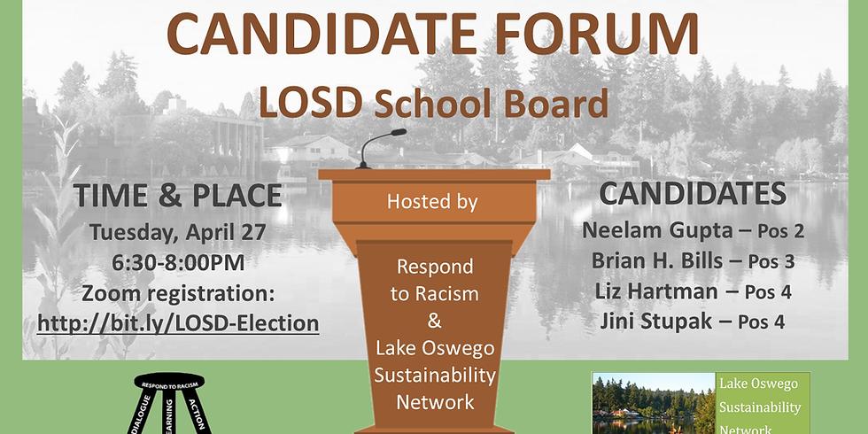 LOSD Candidate Forum