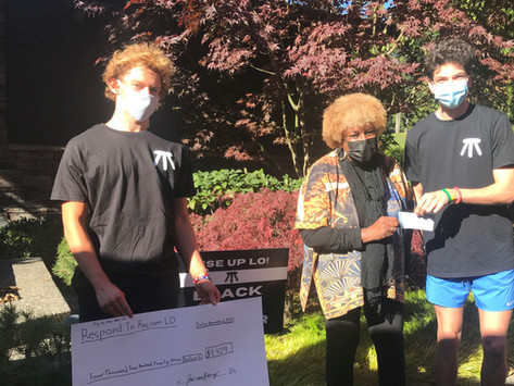 LO High School Allies Raise Funds and Donate to Respond to Racism