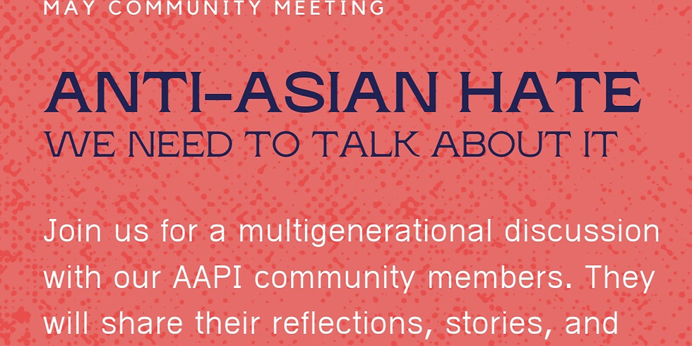 May Community Meeting