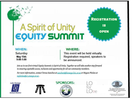 Spirit of Unity Equity Summit, May 15, 2021