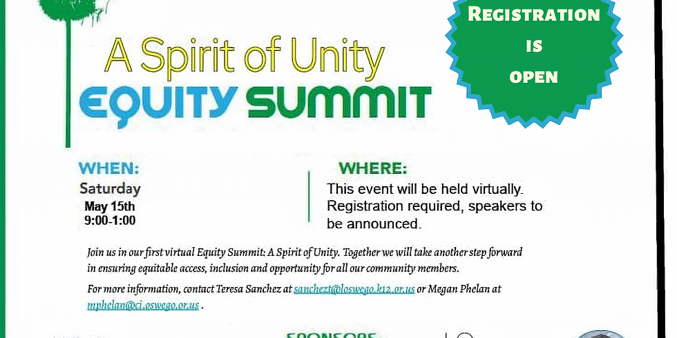 A Spirit of Unity Equity Summit