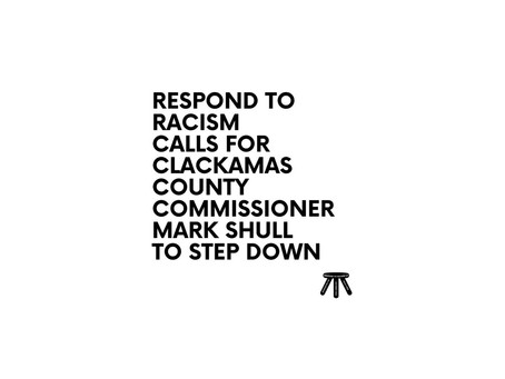 Respond to Racism Calls For Shull to Step Down