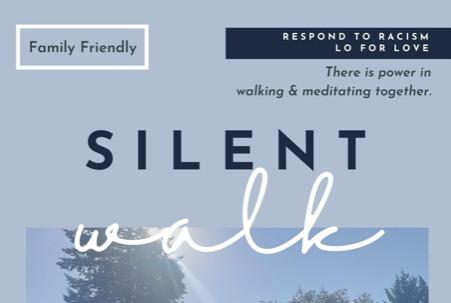 Walk in Silence Sunday, June 20 4pm