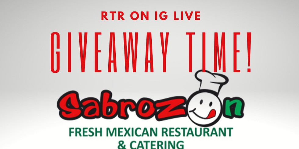 Gift Card Drawing for Sabrazon Restaurant