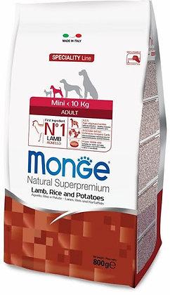 Monge Dog Mini Adult ягненок, рис и картофель 800 гр.
