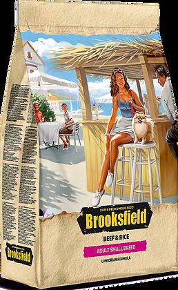 Brooksfield Adult Small breeds говядина\рис 800гр