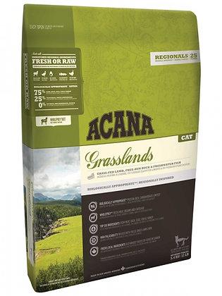 Acana Grasslads корм для кошек (ягненок с уткой) 340гр.
