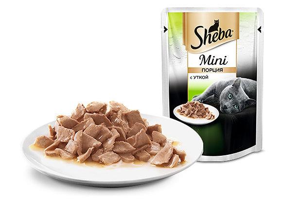 Sheba mini с уткой 50 гр.