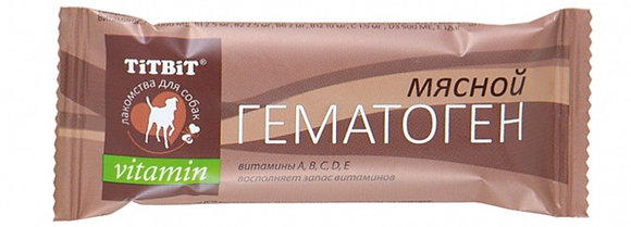 Гематоген мясной vitamin 35гр
