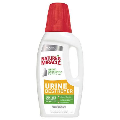 Nature's Miracle Уничтожитель пятен и запахов от мочи кошек 946мл