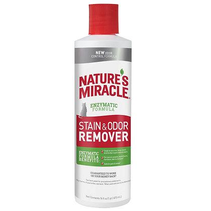 Nature's Miracle Универсальный уничтожитель пятен и запахов для кошек 473мл