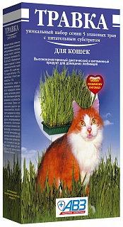Травка для кошек (лоток) 170 гр.