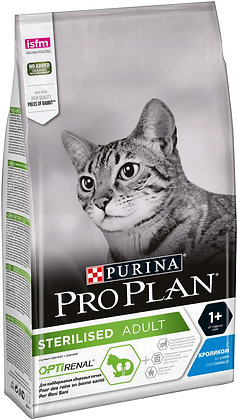 Purina Pro Plan Sterilised с кроликом 1.5 кг