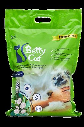 """Betty Cat """"Яблоко"""" гигиенический наполнитель 5л."""