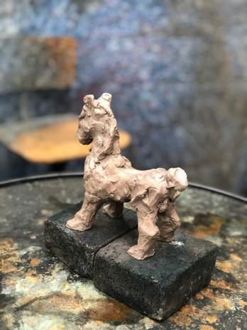Sculpture - Bronze/étape 4
