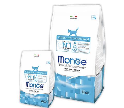 Monge для котят (рис с цыпленком) 400гр.
