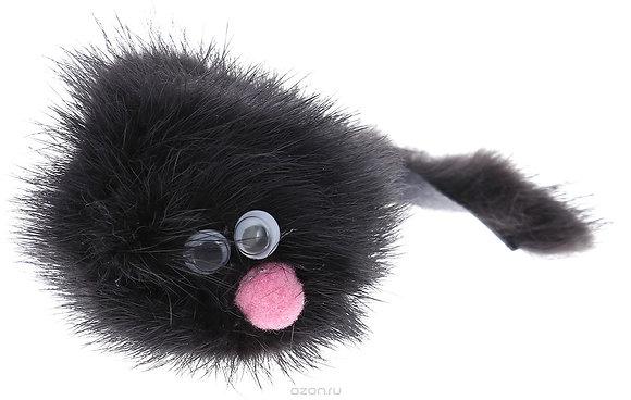 """""""Норковый зверек"""" игрушка для кошек."""