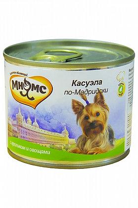 "Мнямс консервы для собак ""Касуэла по-Мадридски"" 200гр"