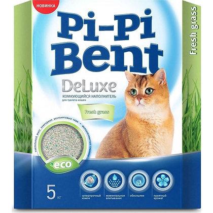 Наполнитель Pi-Pi Bent Deluxe Fresh Grass 5кг