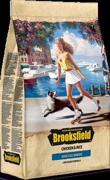 Brooksfield Adult All breeds курица\рис 3кг