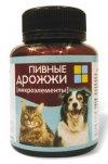 """Пивные дрожжи """"ВАКА"""" для собак и кошек с микроэлементами 80гр"""