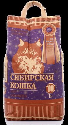 Сибирская Кошка Супер комкующийся 10кг