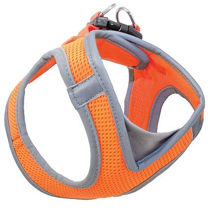 Мягкая шлейка-жилетка оранжевая M