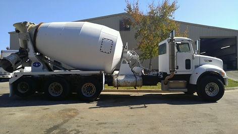 Peterbilt 340 Mixer Truck
