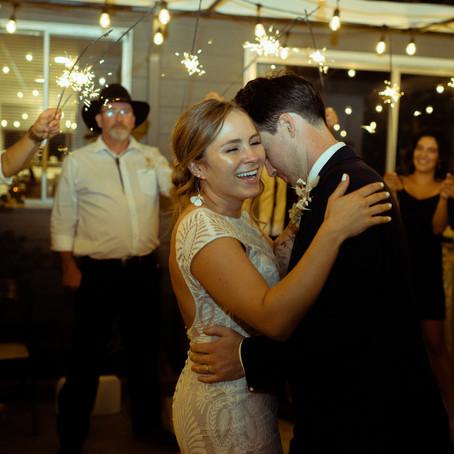 Andrew + Rachael | Intimate Backyard Wedding