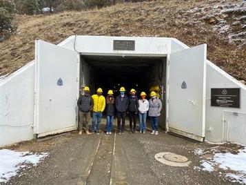 Visiting Edgar Experimental Mine