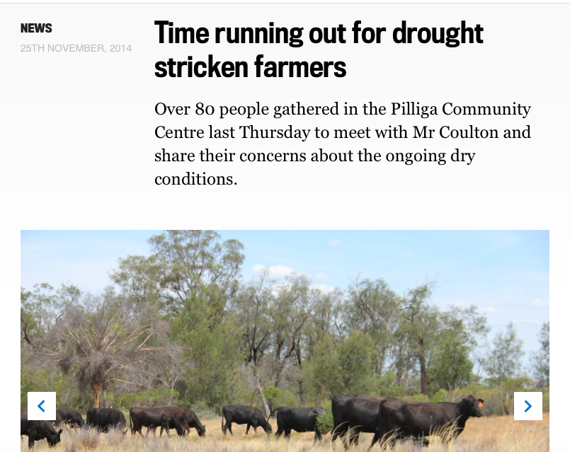 Time running out for Pilliga farmers