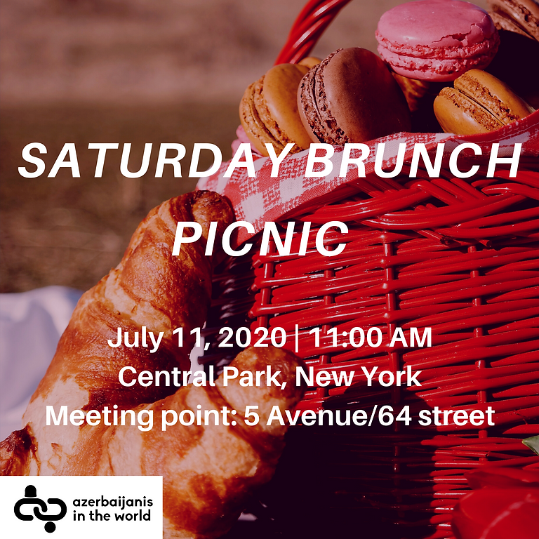 Saturday Brunch Picnic in Central Park, New York City