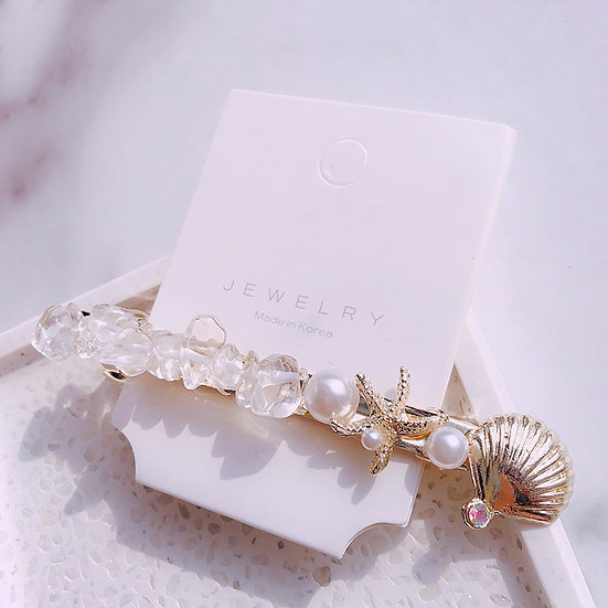 SHELLY Shell hair clips