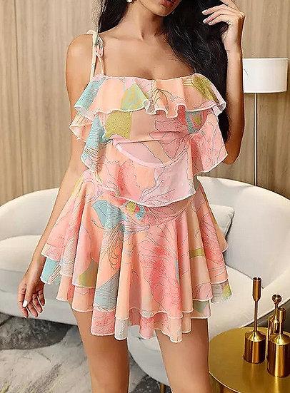 ANASTASIA Floral Print Mini dress