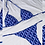 Thumbnail: CHRISTINA Patterned classic triangle bikini set