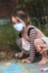 masque lavable enfant montréal québec réutilisable licorne fille