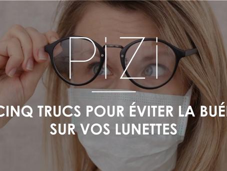 Cinq trucs pour éviter la buée sur vos lunettes 👓
