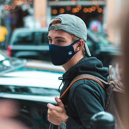 masque en tissu lavable réutilisable montréal québec toronto homme design couvre-visage