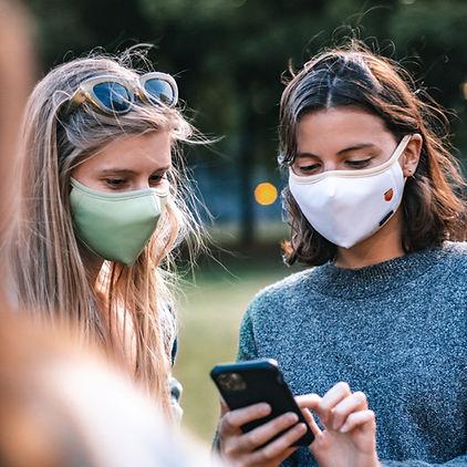 masque réutilisable face mask montréal toronto québec livraison rapide tissu femme