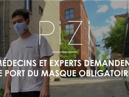 Médecins et experts demandent le port du masque obligatoire au Québec